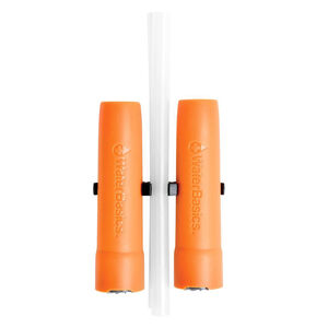 Aquamira WaterBasics Emergency Straw Filter, BLU Line Filter - Parasite Protection, Filters up to 30 Gallons of Water per Straw, 2 Straws per Pack 67250