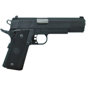 "American Classic XB Full Size 1911 Semi Auto Pistol 9mm Luger 5"" Barrel 17 Rounds Black Aluminum Grips Parkerized Blued Finish"