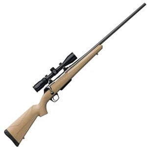 """Winchester XPR Dark Earth Combo .270 Win Bolt Action Rifle 3 Rounds 24"""" Barrel Dark Earth Synthetic Stock Gray Barrel"""