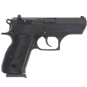 "TriStar T100 Semi Automatic Pistol 9mm Luger 3.7"" Barrel 15 Round Capacity Polymer Grips Blued Finish 85109"
