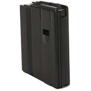 C Products AR-15 6.8 SPC Magazine Five Rounds Steel Black 0568041187