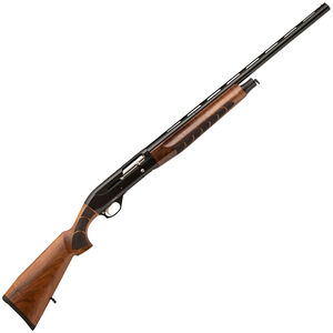 "TR Silver Eagle Kinetic 12 Semi Auto Shotgun 12 Gauge 28"" Barrel 3"" Chamber 4 Rounds Walnut Stock Black Finish"
