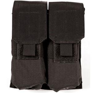 BLACKHAWK! M4/M16 Double Magazine Pouch MOLLE/S.T.R.I.K.E. Platform Compatible Black 37CL03BK