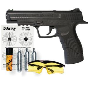 Daisy Powerline 415 Air Pistol Safety Glasses C02 Kit