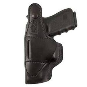 DeSantis Dual Carry II IWB/OWB Holster S&W J Frame Revolvers Right Hand Leather Black 033BA02Z0