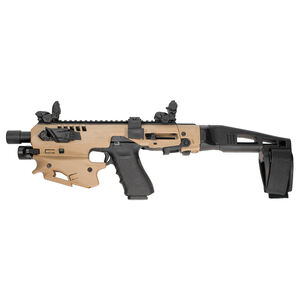 Command Arms Accessories MCK Micro Conversion Kit Plus Advanced Kit for GLOCK 20/21 Tan