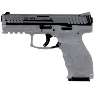 "H&K VP9 9mm Luger Semi Auto Pistol 4.09"" Barrel 10 Rounds Grey"