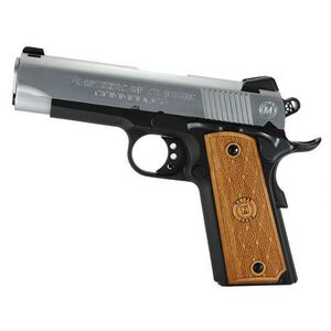 "American Classic 1911 Commander Semi Automatic Handgun .45 ACP 4.25"" Barrel 8 Rounds Steel Duo-Tone Fixed Sights ACC45DT"