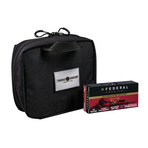 Federal Gold Medal Match .224 Valkyrie Ammunition 320 Rounds 90 Grain Sierra MatchKing Boat Tail Hollow Point 2700fps Nylon Bag Included