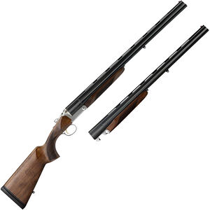 "Charles Daly Triple Crown Combo Triple Barrel Break Action Shotgun .410/28 Gauge 26"" Barrels 3 Rounds Extractor Walnut Stock Matte Blued"