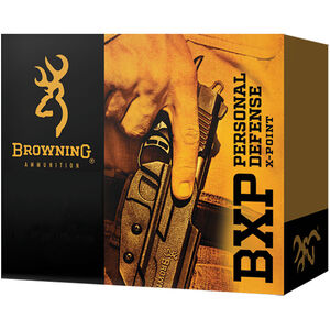 Browning BXP Personal Defense .40 S&W Ammunition 20 Rounds JHP 180 Grains B191700401