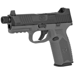 "FN America FN 509 Tactical 9mm Luger Semi Auto Pistol 4.5"" Threaded Barrel 24 Rounds Red Dot Compatible Night Sights Ambidextrous Controls Polymer Frame Black/Grey"