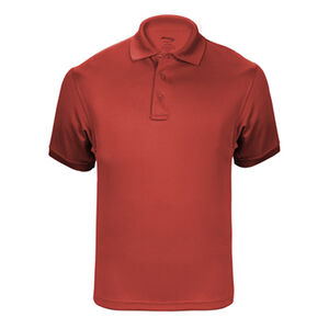 Elbeco UFX Tactical Polo Men's Short Sleeve Polo 3XL 100% Polyester Swiss Pique Knit Red