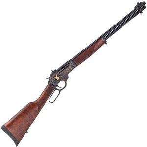 """Henry Repeating Arms Wildlife Edition .30/30 Lever Action Rifle .30-30 Win 20"""" Barrel 5 Rounds Walnut Stock Blued Finish H009WL"""