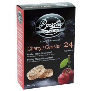 Bradley Smoker Wood Bisquettes Cherry Flavor 24-Pack BTCH24