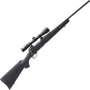 "Savage Model 111 Trophy Hunter XP Bolt Action Rifle .338 Win Mag 24"" Barrel 4 Rounds Nikon 3-9x40 Scope Synthetic Stock Black Finish 19795"