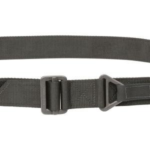 Tac Shield Military Riggers Belt Nylon Size Large Black T33LGBK