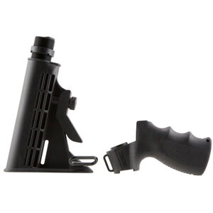 AIM Sports Mossberg Pistol Grip and Collapsible Stock Polymer Black