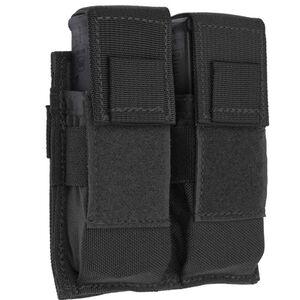 Tac Shield Pistol Double Magazine Pouch MOLLE Black T3602BK