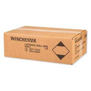 Winchester USA 7.62 NATO Ammunition 200 Rounds FMJ 147 Grains Q3130