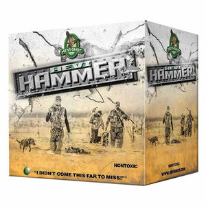 "Hevi-Shot Hevi-Hammer Ammunition 12 Gauge 25 Rounds 3"" #3 Shot 1-1/4 oz 1500 fps"