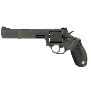 """Taurus Tracker 992 Double Action Revolver .22LR/.22 WMR 6.5"""" Barrel 9 Rounds Fixed Front Sight/Adjustable Rear Sight Ribber Grip Matte Black Finish"""