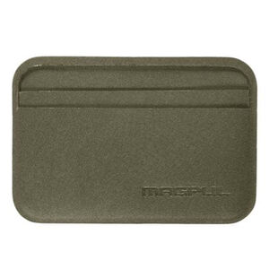 "Magpul DAKA Everyday Wallet 4.2"" x 2.84"" Polymer Textile OD Green"