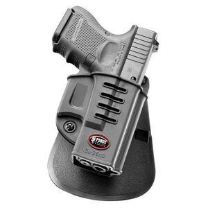 Fobus Evolution Holster Glock 26,27,33 Left Hand Paddle Attachment Polymer Black