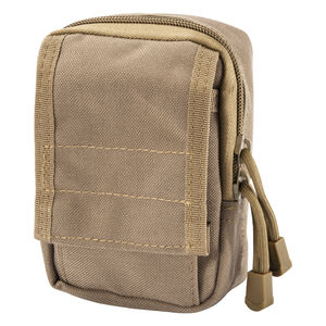 Barska CX-800 Accessory Pouch MOLLE Ballistic  Nylon Dark Earth