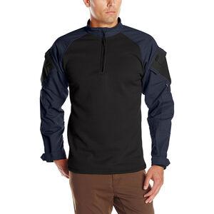 Tru-Spec TRU 1/4 Zip Winter Combat Shirt Large Navy