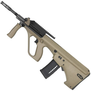 "Steyr AUG A3 M1 Semi Auto Bullpup Rifle 5.56 NATO 16"" Barrel 30 Round AR-15 Pattern Magazine High Picatinny Rail Polymer Stock Matte Mud"