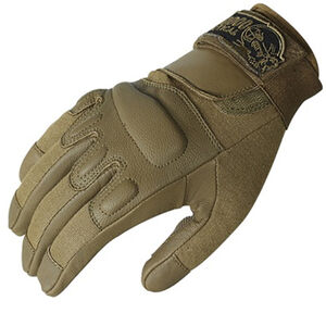 Voodoo Tactical Intruder Gloves Leather Medium Coyote 20-907907093