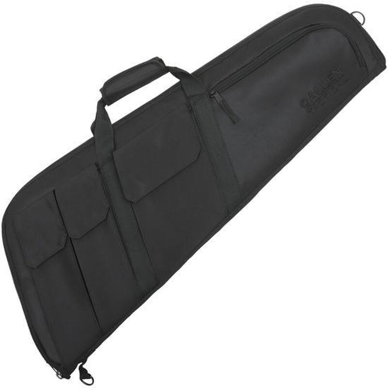 """Allen Company Wedge Tactical Rifle Case 32"""" with Magazine Pockets Synthetic Endura Fabric Black 10901"""