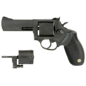 """Taurus Tracker 992 Double Action Revolver .22LR/.22 WMR 4"""" Barrel 9 Rounds Fixed Front Sight/Adjustable Rear Sight Ribber Grip Matte Black Finish"""