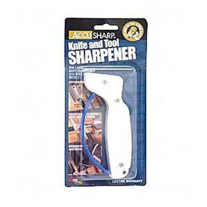 AccuSharp Knife Sharpener Plastic White