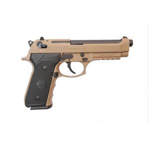 """EAA GiRSAN Regard MC 9mm Luger Semi Auto Pistol 4.9"""" Barrel 18 Rounds Beretta 92 Style Pistol Ambidextrous Safety Flat Dark Earth Finish"""