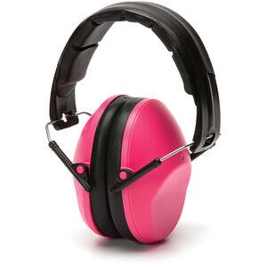 Pyramex Safety Products VG90 Series Ear Muff Foldaway Headband 22dB NRR Pink VGPM9010PC