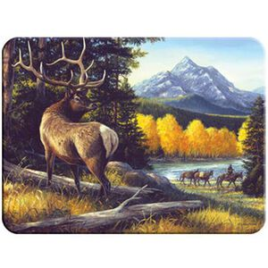 River's Edge Products 729 Elk Cutting Board Glass 729