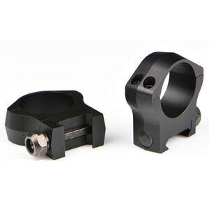 Warne Mountain Tech Weaver/Picatinny Ring 30mm Medium Height Aluminum Matte Black