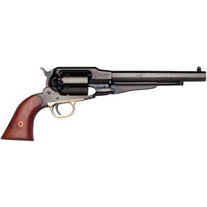 Taylor's & Co. .44 Caliber 1858 Remington New Army Forged Frame Black Powder Revolver 6 Shot Walnut Grips Blued Finish