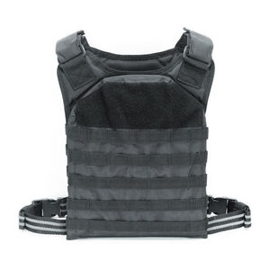 Voodoo Tactical Rapid Assault Tactical Plate Carrier Vest Black 20-901701000