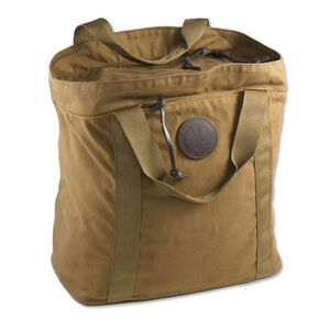 Beretta Waxwear Large Cartridge Tote Bag Leather/Waxed Canvas Brown