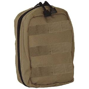 Voodoo Tactical Fully Stocked MOLLE Tactical Trauma Kit Nylon Coyote 10-885807000