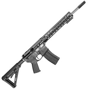 """CORE15 TAC AR-15 Semi Auto Rifle 6.5 Grendel 18"""" Stainless Steel Fluted Barrel 25 Rounds 15"""" KeyMod Forend Collapsible Stock Black"""