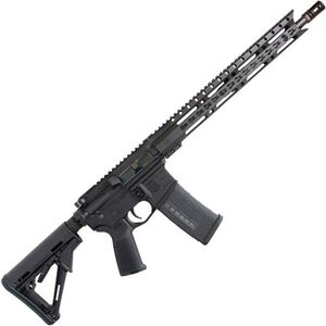 "Diamondback Firearms DB15E300B AR-15 Semi Auto Rifle .300 Blackout 30 Rounds 16"" Barrel Key-Mod Handguard Collapsible Stock Black"