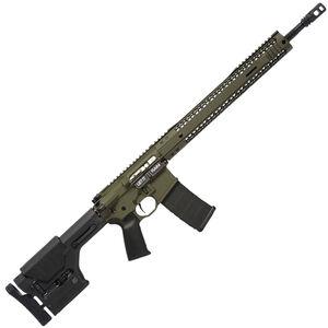 "Black Rain BRO Predator AR-15 Semi Auto Rifle 5.56 NATO 18"" Fluted Barrel 30 Rounds M-LOK Hybrid Handguard MOE Stock OD Green"