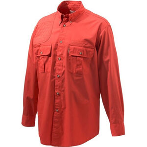 Beretta Special Purchase Men's Shooting Shirt Long Sleeve Small Red