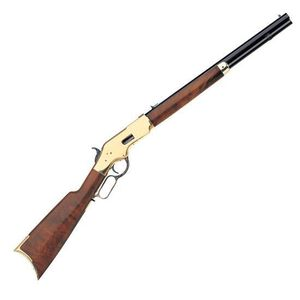 """Taylor's & Co 1866 Sporting Lever Action Rifle .38 Special 20"""" Octagonal Barrel 10 Rounds Blue with Brass Frame Walnut Stock"""