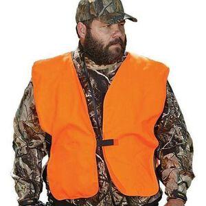"""Allen Blaze Orange Safety Vest 60"""" Chest Polyester"""