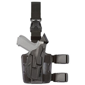 Safariland 7TS 7305 ALS Tactical Holster with Quick Release Fits Glock 19/23 SureFire XC-1 Right Hand STX Plain Black